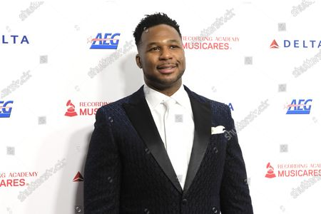 Robert Randolph arrives for the 2020 MusiCares Person of The Year gala at the Convention Center in Los Angeles, California, USA 24 January 2020. MusiCares Person of the Year Tribute honored US rock band Aerosmith for their extraordinary creative accomplishments and significant philanthropic efforts over five decades.