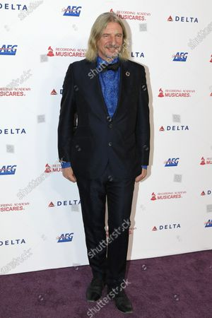Stock Image of German businessman Frank Otto arrives for the 2020 MusiCares Person of The Year gala, at the Convention Center in Los Angeles, California, USA, 24 January 2020. MusiCares Person of the Year Tribute honored US rock band Aerosmith for their extraordinary creative accomplishments and significant philanthropic efforts over five decades.