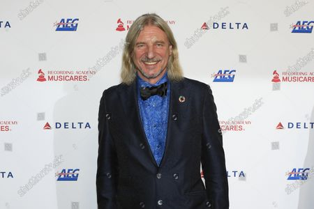 German businessman Frank Otto arrives for the 2020 MusiCares Person of The Year gala, at the Convention Center in Los Angeles, California, USA, 24 January 2020. MusiCares Person of the Year Tribute honored US rock band Aerosmith for their extraordinary creative accomplishments and significant philanthropic efforts over five decades.