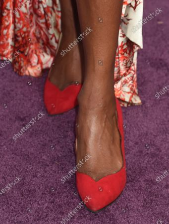 Condola Rashad, shoe detail
