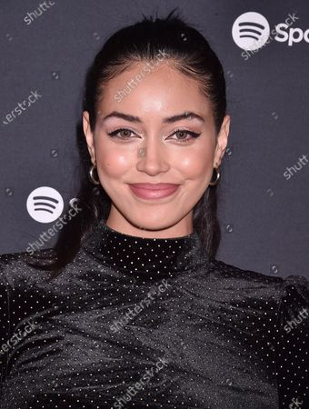 Editorial picture of Spotify Best New Artist 2020 Party, Arrivals, The Lot Studios, Los Angeles, USA - 23 Jan 2020