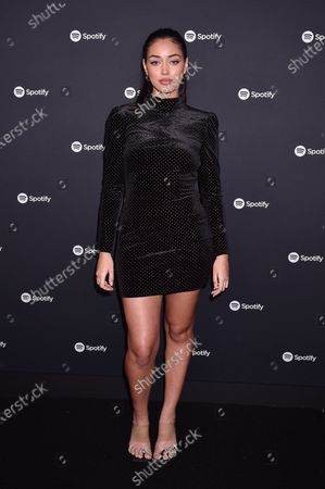 Editorial photo of Spotify Best New Artist 2020 Party, Arrivals, The Lot Studios, Los Angeles, USA - 23 Jan 2020