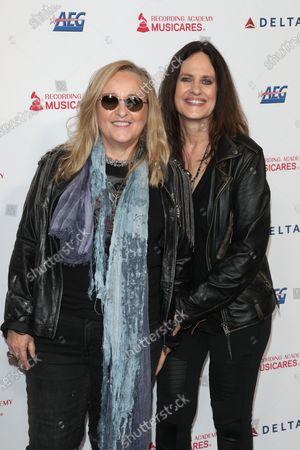 Stock Picture of Melissa Etheridge, Linda Wallem