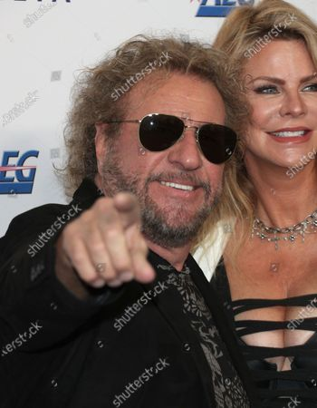 Stock Picture of Sammy Hagar and Kari Hagar