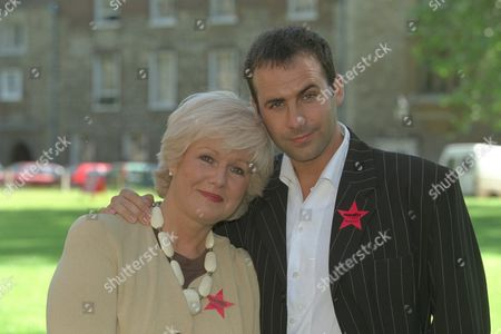 Gay Vote For Age To Be Dropped From 18 To 16.... Labour Party Mp Ann Keen Who Put Forward The Amendment To Parliament With Her Gay Son Mark Lloyd-fox 31 Who She Had To Give Up For Adoption At Birth She Was Only 17 Years Old. They Are Wearing Gay / Homosexual Equality Red Stars.. Group Picture..l To R... Chris Mums 18 David Cohen 16 Mark Lloyd-fox 31 M.p. Ann Keen And Antony Grey.......