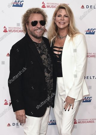 Stock Image of Sammy Hagar and Kari Hagar