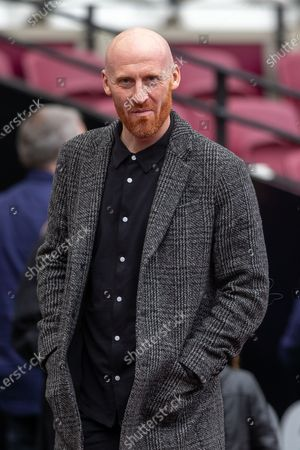 Stock Picture of Ex West Ham player James Collins before Kick Off