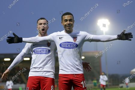 Editorial image of Dagenham & Redbridge vs Notts County, Vanarama National League, Football, the Chigwell Construction Stadium, London, Greater London, United Kingdom - 25 Jan 2020