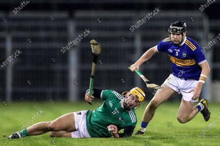 Tipperary vs Limerick. Limerick's Tom Morrissey and Alan Flynn of Tipperary
