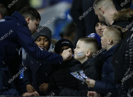 Sheffield Wednesday Face Paint Blue and White Very Easy To Use