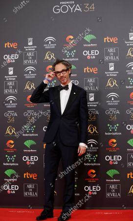 Stock Photo of James Rhodes attends the 34th annual Goya Awards ceremony at the Jose Maria Martin Carpena Sports Palace in Malaga, Spain, 25 January 2020. The awards are presented by the Spanish Academy of Motion Picture Arts and Sciences.