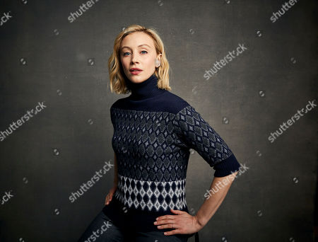 "Sarah Gadon poses for a portrait to promote the film ""Black Bear"" at the Music Lodge during the Sundance Film Festival, in Park City, Utah"