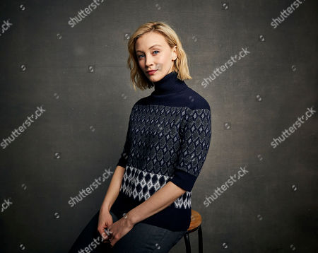 "Stock Picture of Sarah Gadon poses for a portrait to promote the film ""Black Bear"" at the Music Lodge during the Sundance Film Festival, in Park City, Utah"