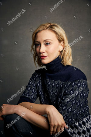 "Stock Photo of Sarah Gadon poses for a portrait to promote the film ""Black Bear"" at the Music Lodge during the Sundance Film Festival, in Park City, Utah"