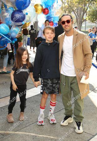 Pete Wentz and sons Bronx Wentz and Saint Wentz