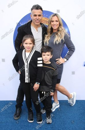 Stock Picture of Teddi Jo Mellencamp, Edwin Arroyave and family