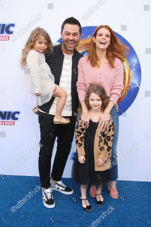 Joanna Garcia, Nick Swisher and family