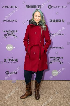 "Josephine Decker attends the premiere of ""Shirley"" at the Eccles Theatre during the 2020 Sundance Film Festival, in Park City, Utah"