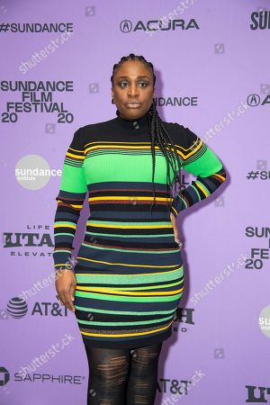 "Tamar-Kali attends the premiere of ""Shirley"" at the Eccles Theatre during the 2020 Sundance Film Festival, in Park City, Utah"