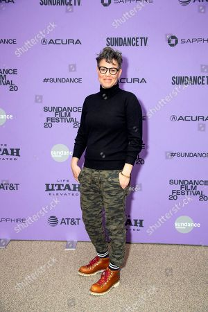 "Sarah Gubbins attends the premiere of ""Shirley"" at the Eccles Theatre during the 2020 Sundance Film Festival, in Park City, Utah"