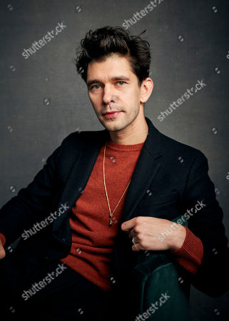 "Ben Whishaw poses for a portrait to promote the film ""Surge"" at the Music Lodge during the Sundance Film Festival, in Park City, Utah"