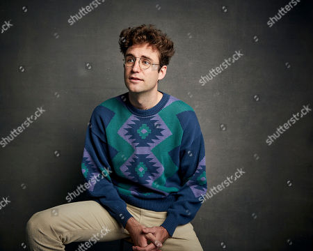 """John Reynolds poses for a portrait to promote the film """"Save Yourselves!"""" at the Music Lodge during the Sundance Film Festival, in Park City, Utah"""