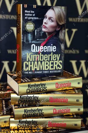 Editorial image of Kimberley Chambers 'Queenie' book signing, Essex, UK - 25 Jan 2020