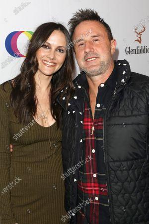 Stock Photo of Christina McLarty and David Arquette