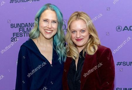 Josephine Decker and Elisabeth Moss