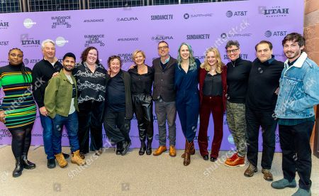 Editorial picture of 'Shirley' film premiere, Arrivals, Sundance Film Festival, Eccles Theater, Park City, USA - 25 Jan 2020