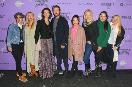 Stock Image of Diego Luna, Sienna Miller, Aimee Carrero, Tara Miele