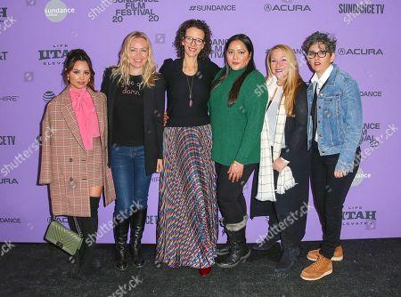 Stock Picture of Aimee Carrero, Lynette Howell Taylor, Tara Miele, Shivani Rawat, Monica Levinson, Carolina Costa