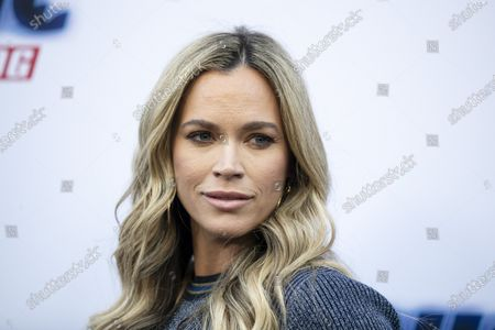 Teddi Mellencamp poses on the red carpet prior an event for the movie 'Sonic the Hedgehog' at the Paramount Theater in Los Angeles, California, USA, 25 January 2020.
