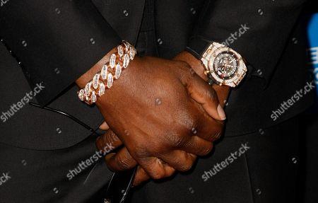 Dez Bryant, jewelry detail