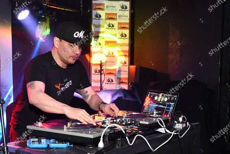 Stock Photo of Mixmaster Mike