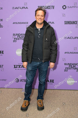 """Stock Photo of Nathan Barr attends the premiere of """"Uncle Frank"""" at the Eccles Theatre during the 2020 Sundance Film Festival, in Park City, Utah"""