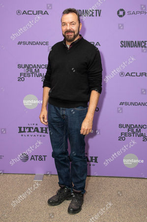 """Alan Ball attends the premiere of """"Uncle Frank"""" at the Eccles Theatre during the 2020 Sundance Film Festival, in Park City, Utah"""