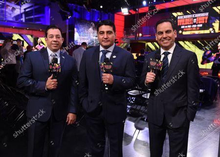 Jaime Motta, Erik Morales and Rolando Nichols