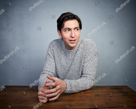 """Nicholas Braun poses for a portrait to promote the film """"Zola"""" at the Music Lodge during the Sundance Film Festival, in Park City, Utah"""