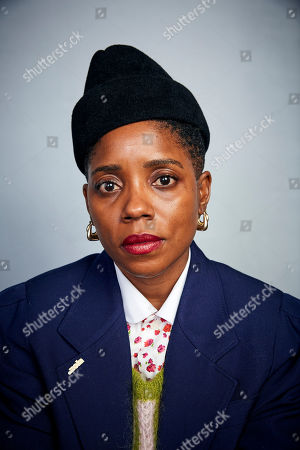 """Janicza Bravo poses for a portrait to promote the film """"Zola"""" at the Music Lodge during the Sundance Film Festival, in Park City, Utah"""