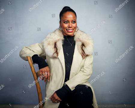 "Taylour Paige poses for a portrait to promote the film ""Zola"" at the Music Lodge during the Sundance Film Festival, in Park City, Utah"