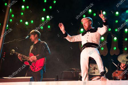 Kaiser Chiefs - Ricky Wilson and Andrew White