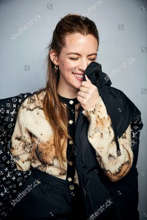 """Riley Keough poses for a portrait to promote the film """"Zola"""" at the Music Lodge during the Sundance Film Festival, in Park City, Utah"""