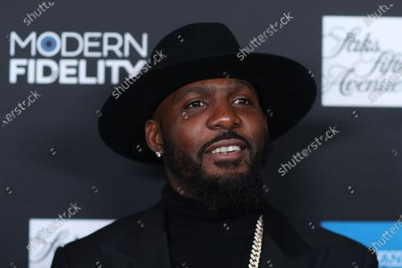 Dez Bryant poses on the red carpet at the ROC NATION's 'The Brunch' at UCLA in Los Angeles, California, USA, 25 January 2020.