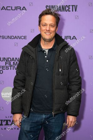 """Nathan Barr attends the premiere of """"Uncle Frank"""" at the Eccles Theatre during the 2020 Sundance Film Festival, in Park City, Utah"""