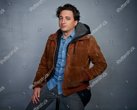 """Benh Zeitlin poses for a portrait to promote the film """"Wendy"""" at the Music Lodge during the Sundance Film Festival, in Park City, Utah"""