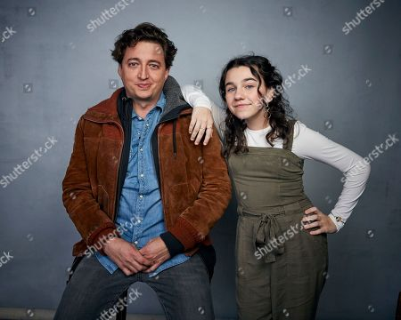 """Benh Zeitlin, Devin France. Director Benh Zeitlin, left, and Devin France pose for a portrait to promote the film """"Wendy"""" at the Music Lodge during the Sundance Film Festival, in Park City, Utah"""