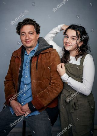 """Benh Zeitlin, Devin France. Director Benh Zeitlin and Devin France pose for a portrait to promote the film """"Wendy"""" at the Music Lodge during the Sundance Film Festival, in Park City, Utah"""