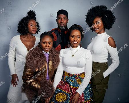 "Editorial picture of 2020 Sundance Film Festival - ""Farewell Amor"" Portrait Session, Park City, USA - 25 Jan 2020"