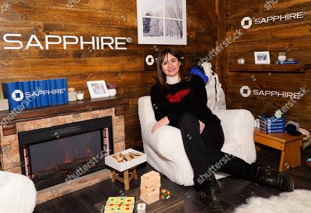 Emily Mortimer poses for a photo at the Los Angeles Times Studio at Sundance Film Festival presented by Chase Sapphire, in Park City, Utah